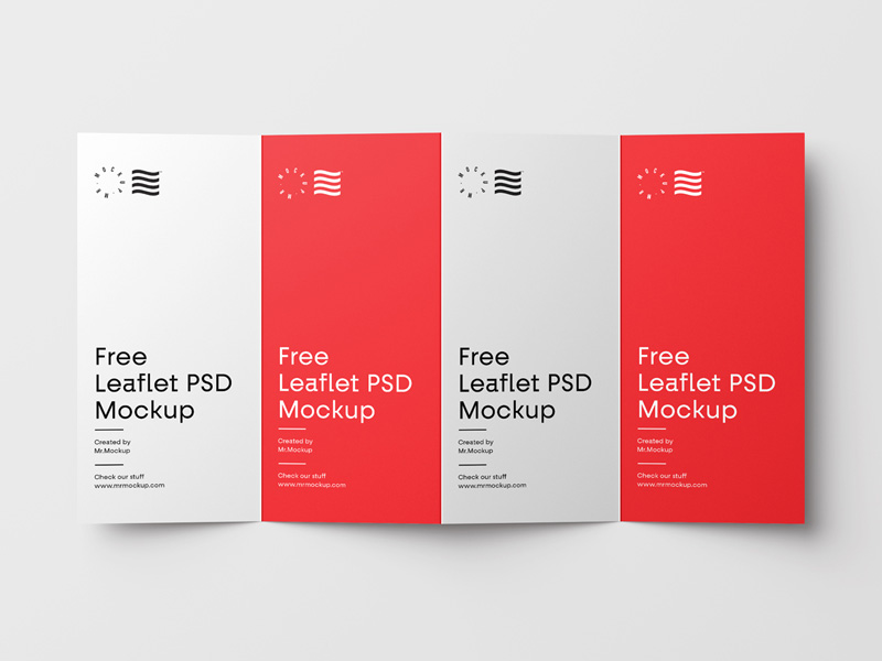 4-Fold Brochure Mockup